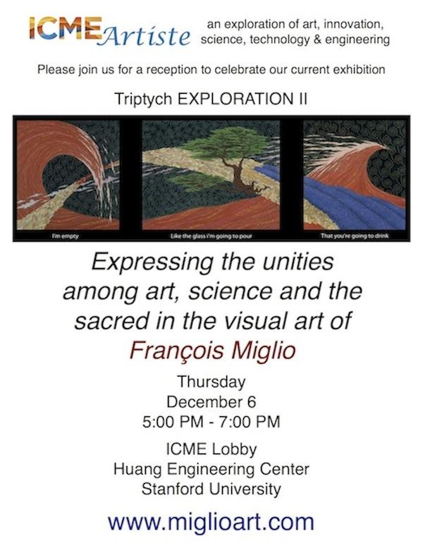 Exhibition MIGLIO at ICME Stanford University-1