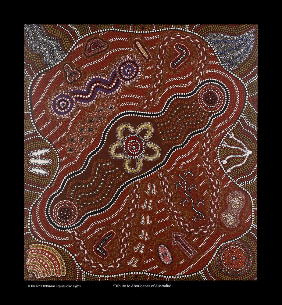 Tribute To Aborigines of Australia
