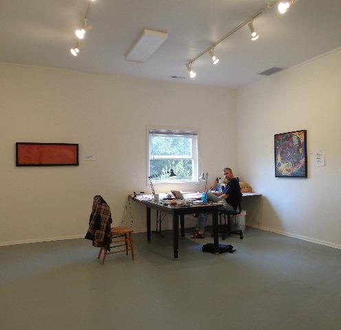 337-mon atelier à Jentel WY